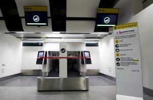 Heathrow Terminal 3 Auto Bag Drop
