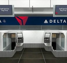 Delta Airlines have selected ICM's Biometrically enabled Auto Bag Drop units for trials at Minneapolis St Paul.