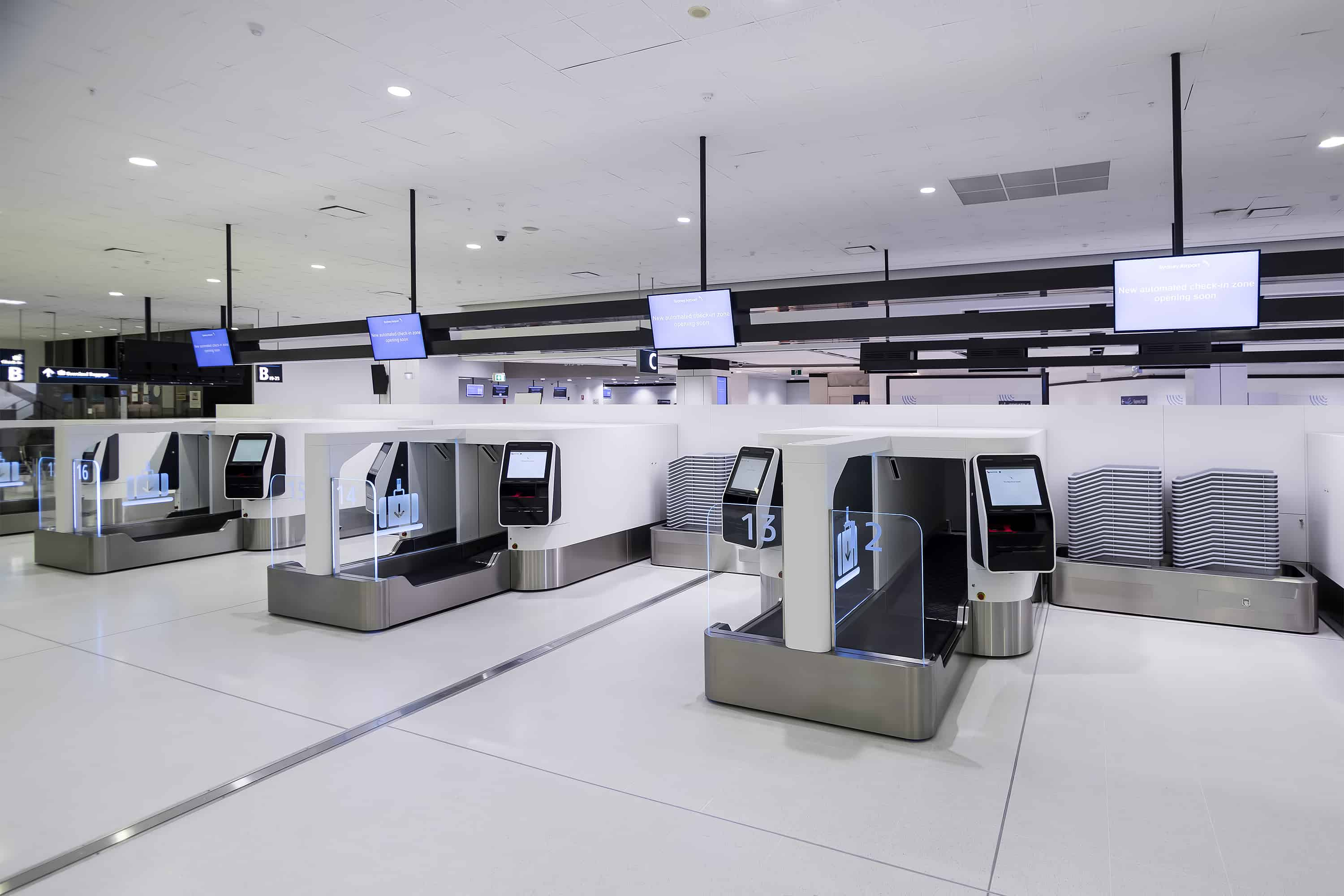 Sydney Airport's T1 International now live with ICM's Auto Bag Drop units and check-in kiosk software