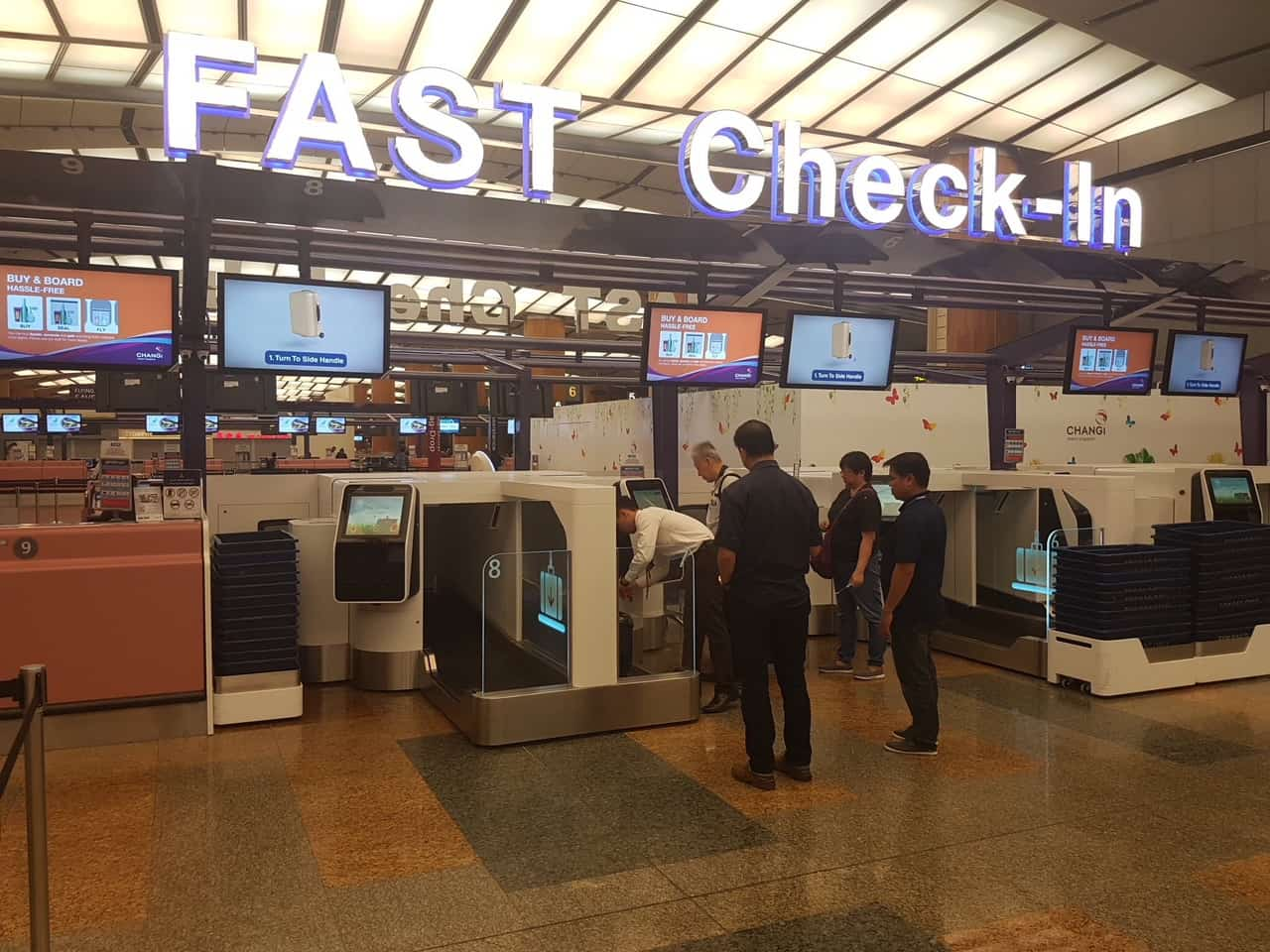 Singapore Airlines and SilkAir now live at Changi Airport T2